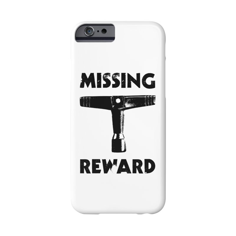 Missing Drum Key - Black Logo Accessories Phone Case by Drum Geek Online Shop