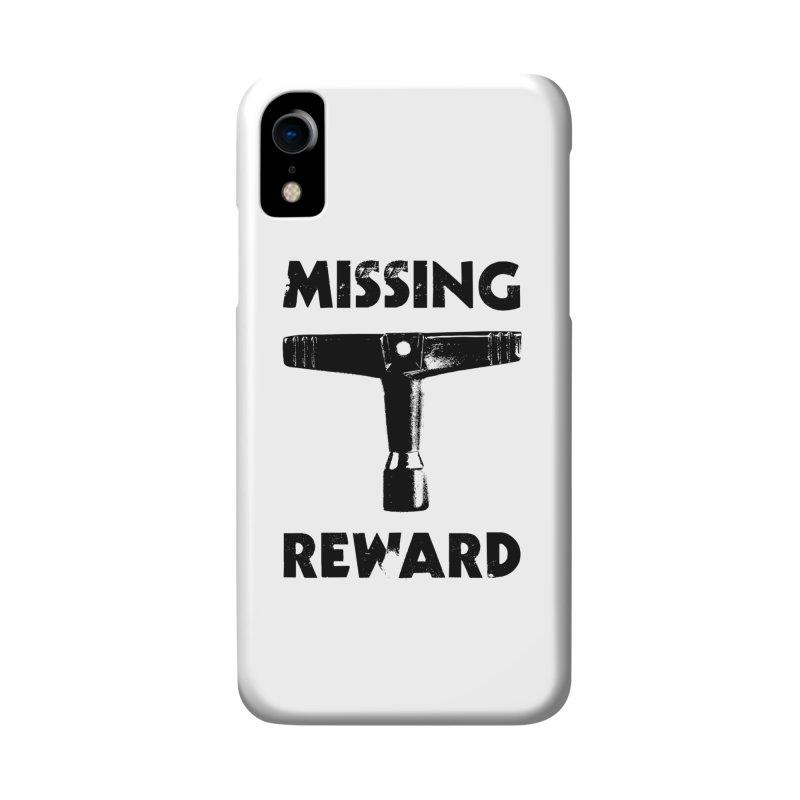 Missing Drum Key (Black Logo) Accessories Phone Case by Drum Geek Online Shop
