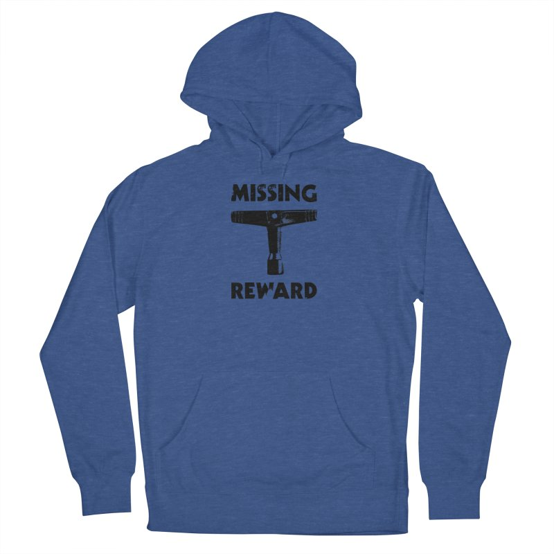 Missing Drum Key (Black Logo) Men's Pullover Hoody by Drum Geek Online Shop