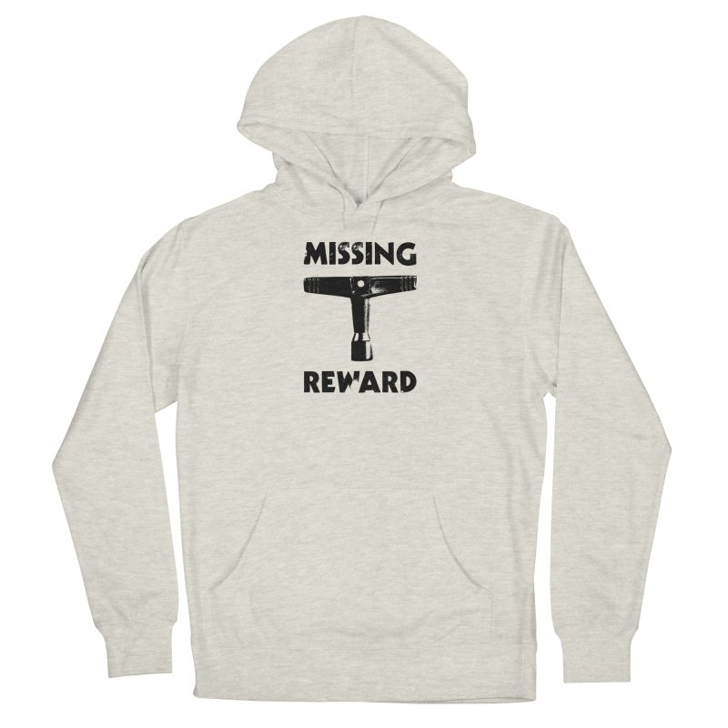 Missing Drum Key (Black Logo) Women's French Terry Pullover Hoody by Drum Geek Online Shop