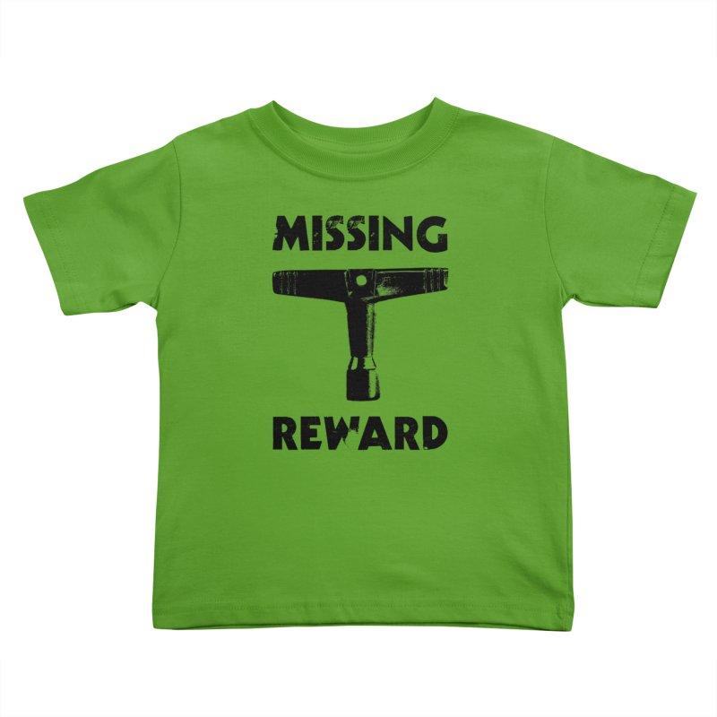 Missing Drum Key - Black Logo Kids Toddler T-Shirt by Drum Geek Online Shop