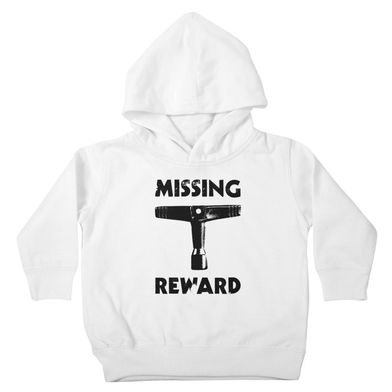Missing Drum Key (Black Logo) Kids Toddler Pullover Hoody by Drum Geek Online Shop