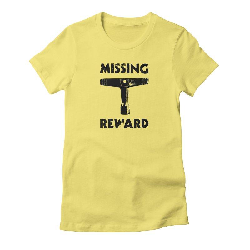 Missing Drum Key (Black Logo) Women's T-Shirt by Drum Geek Online Shop