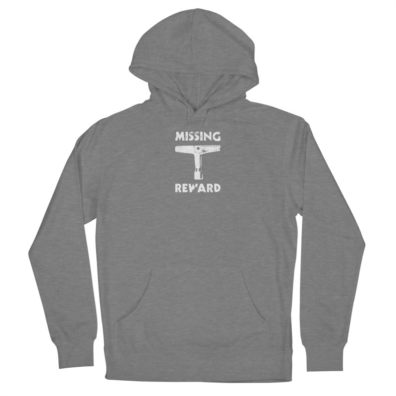 Missing Drum Key - White Logo Women's Pullover Hoody by Drum Geek Online Shop