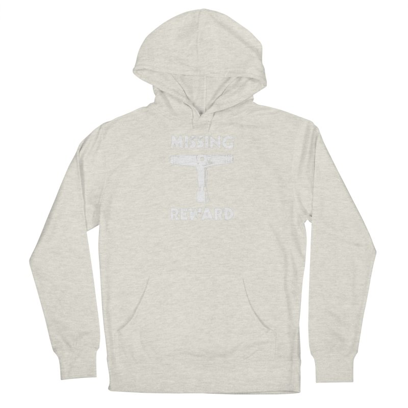 Missing Drum Key (White Logo) Women's French Terry Pullover Hoody by Drum Geek Online Shop
