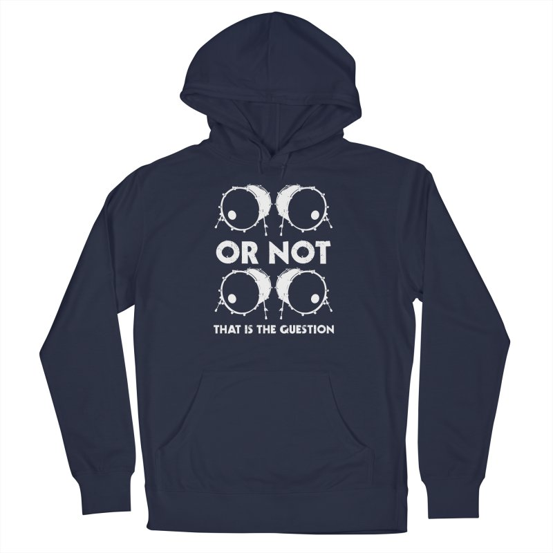 2 Kicks Or Not 2 Kicks (White) Men's Pullover Hoody by Drum Geek Online Shop