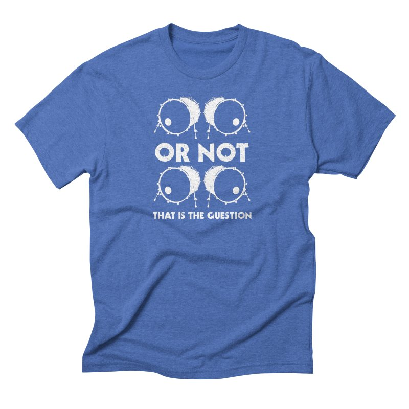 2 Kicks Or Not 2 Kicks (White) Men's T-Shirt by Drum Geek Online Shop