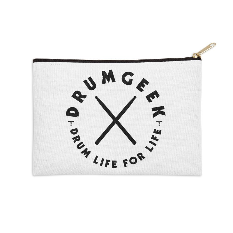 Drum Geel DLFL Logo 3 (Black) Accessories Zip Pouch by Drum Geek Online Shop