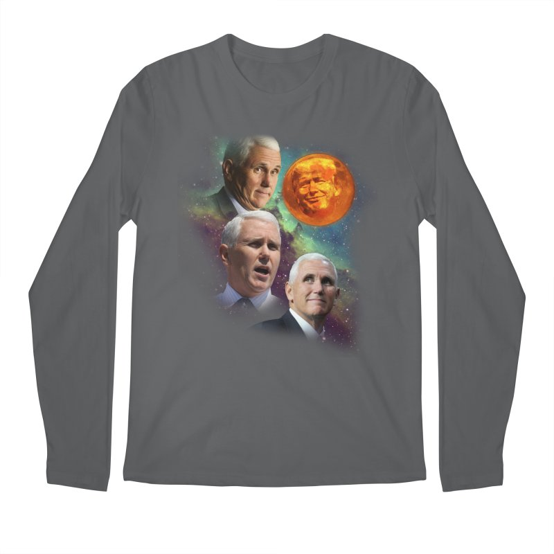 Three Pence Moon Men's Longsleeve T-Shirt by Content Pending - Things & Notables
