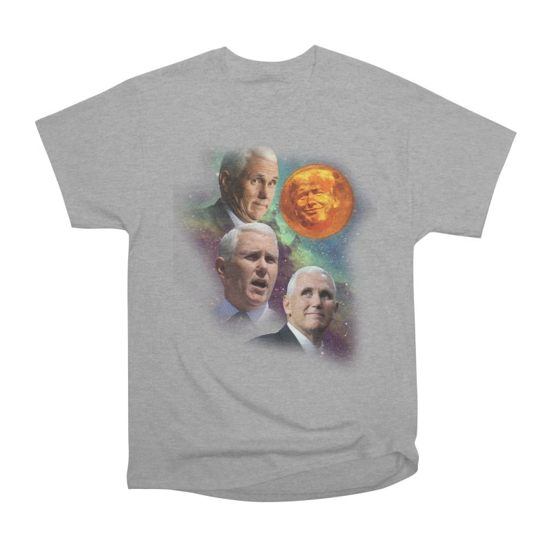 Three Pence Moon Women's Heavyweight Unisex T-Shirt by Content Pending - Things & Notables