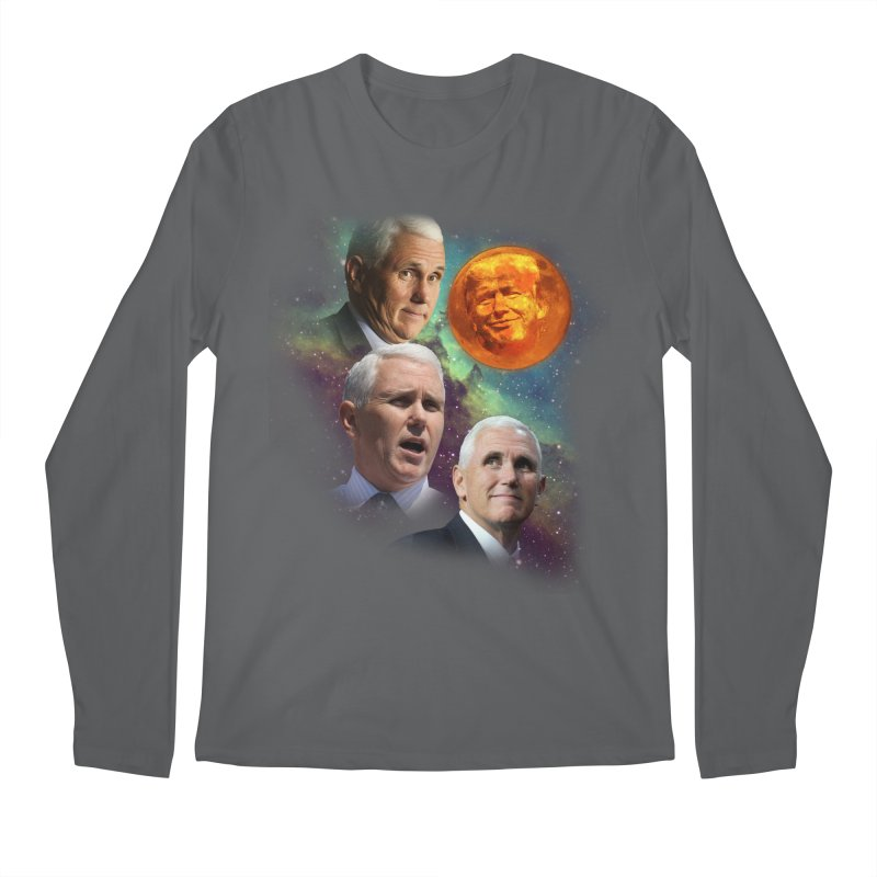 Three Pence Moon Men's Longsleeve T-Shirt by Content Pending - DrunkCast Live! Store