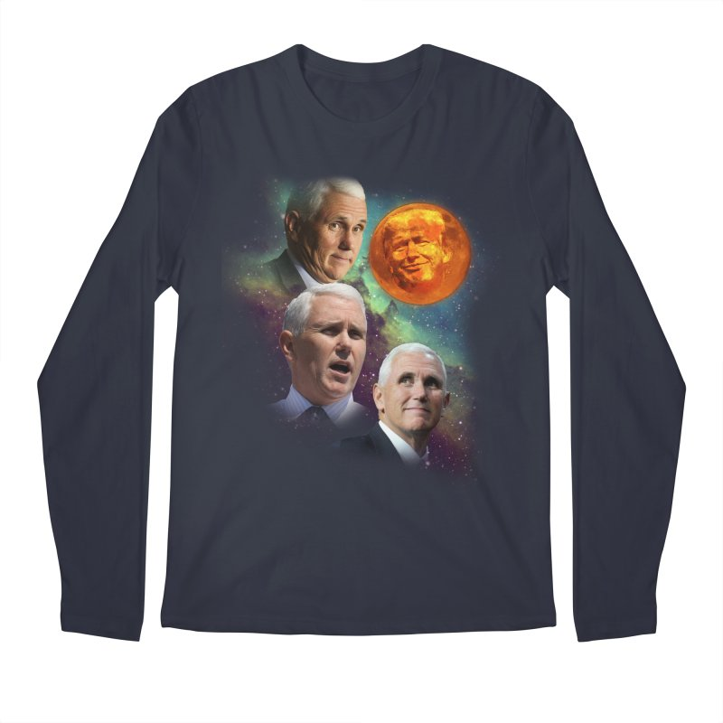 Three Pence Moon Men's Regular Longsleeve T-Shirt by Content Pending - Things & Notables