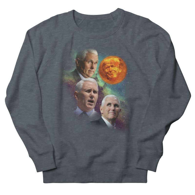 Three Pence Moon Women's French Terry Sweatshirt by Content Pending - Things & Notables