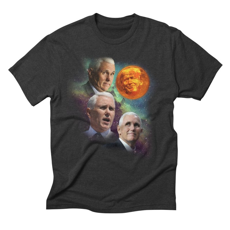 Three Pence Moon Men's Triblend T-Shirt by Content Pending - Things & Notables