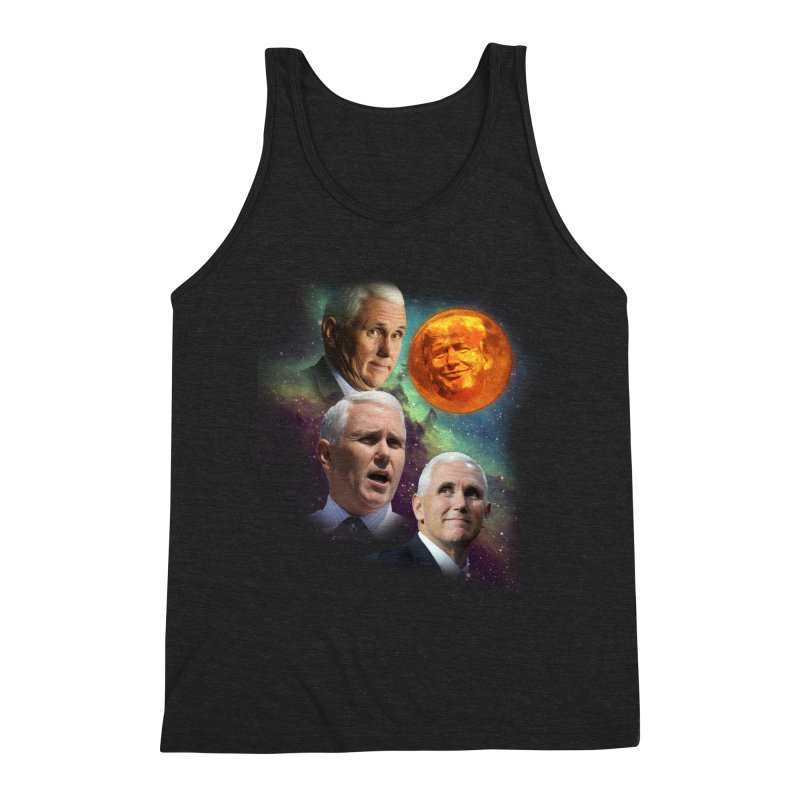 Three Pence Moon Men's Tank by Content Pending - DrunkCast Live! Store