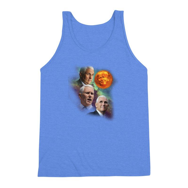 Three Pence Moon Men's Triblend Tank by Content Pending - Things & Notables