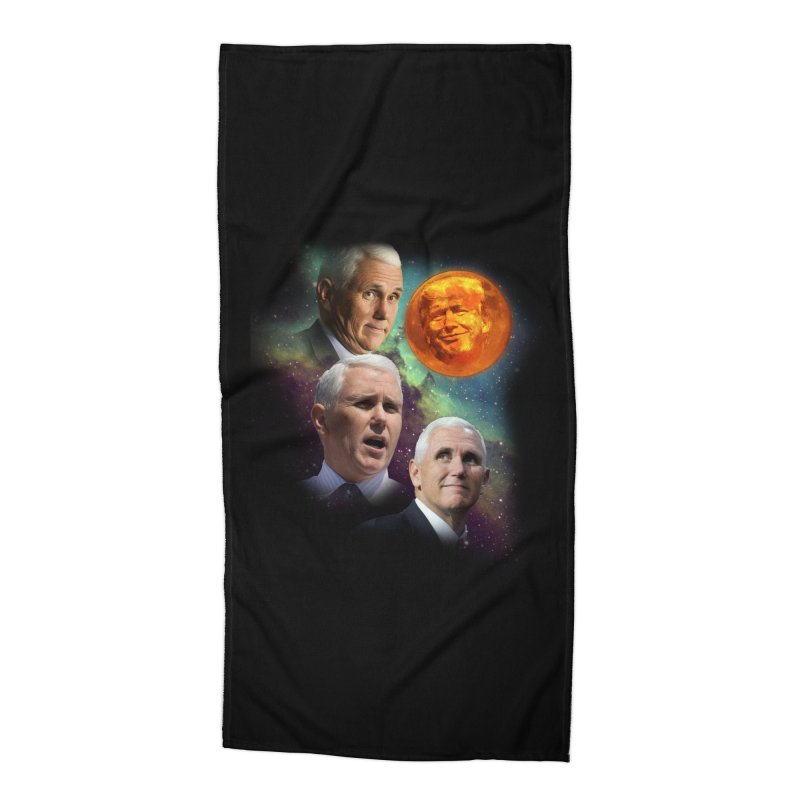 Three Pence Moon Accessories Beach Towel by Content Pending - Things & Notables