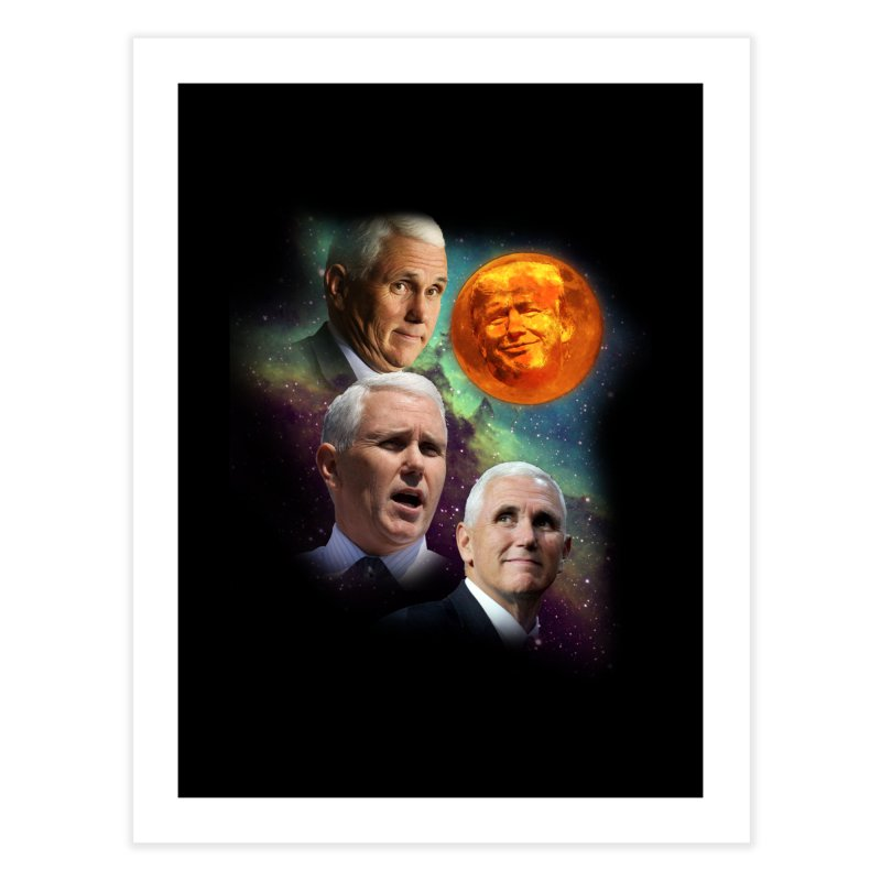 Three Pence Moon Home Fine Art Print by Content Pending - DrunkCast Live! Store