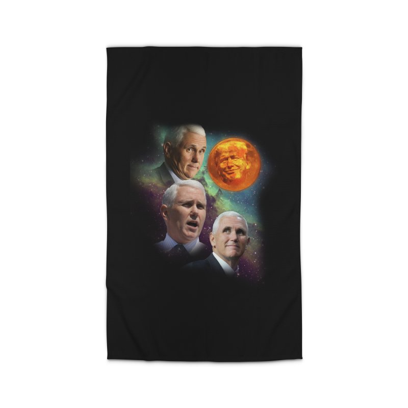 Three Pence Moon Home Rug by Content Pending - DrunkCast Live! Store
