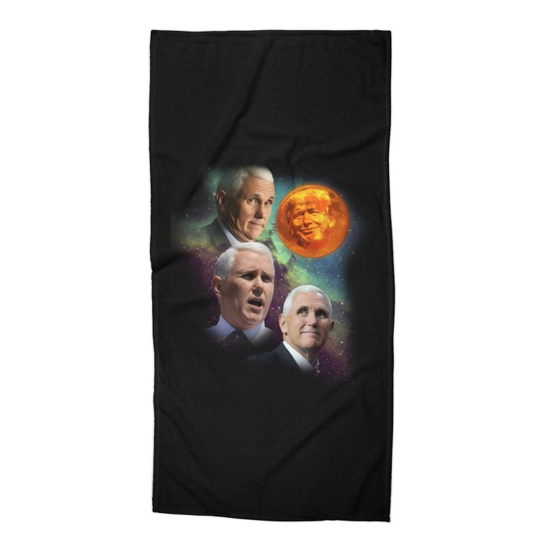 Three Pence Moon Accessories Beach Towel by Content Pending - DrunkCast Live! Store