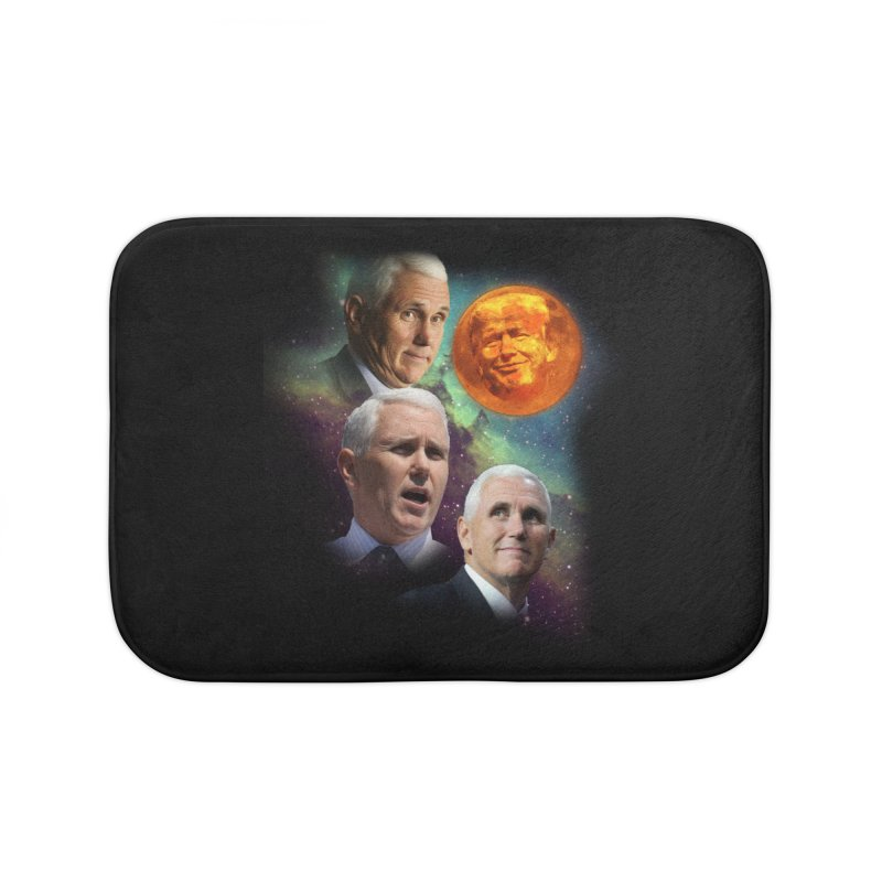 Three Pence Moon Home Bath Mat by Content Pending - DrunkCast Live! Store