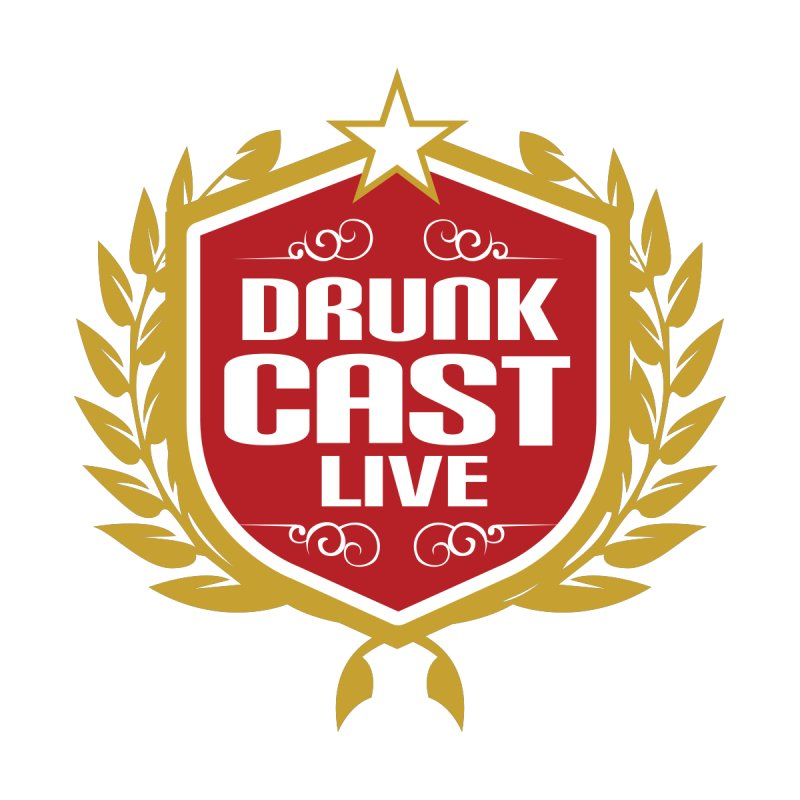 DrunkCast: Live! Logo Men's T-Shirt by Content Pending - Things & Notables