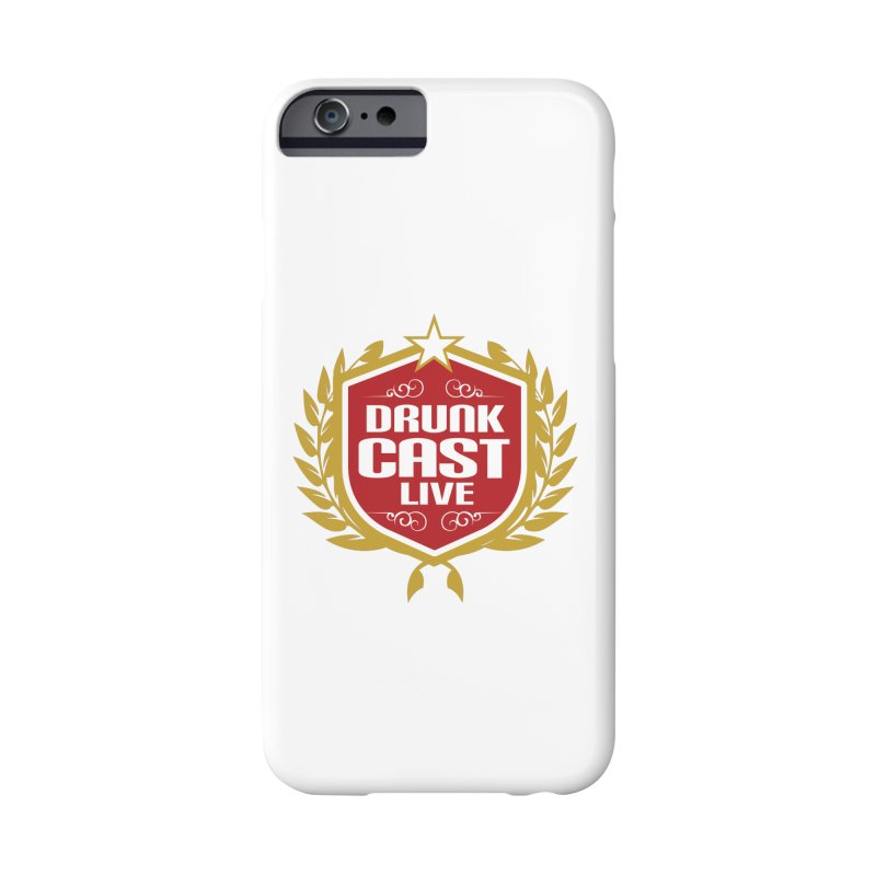 DrunkCast: Live! Logo Accessories Phone Case by Content Pending - DrunkCast Live! Store