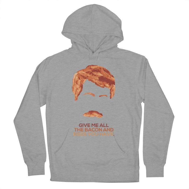Bacon And Eggs Men's Pullover Hoody by Gepson Design