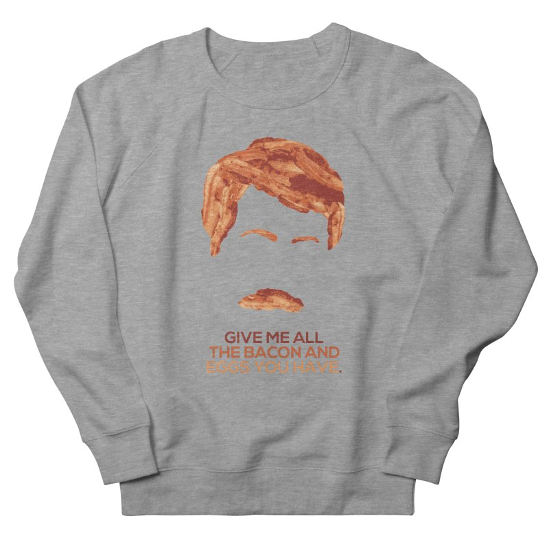 Bacon And Eggs Women's Sweatshirt by Gepson Design