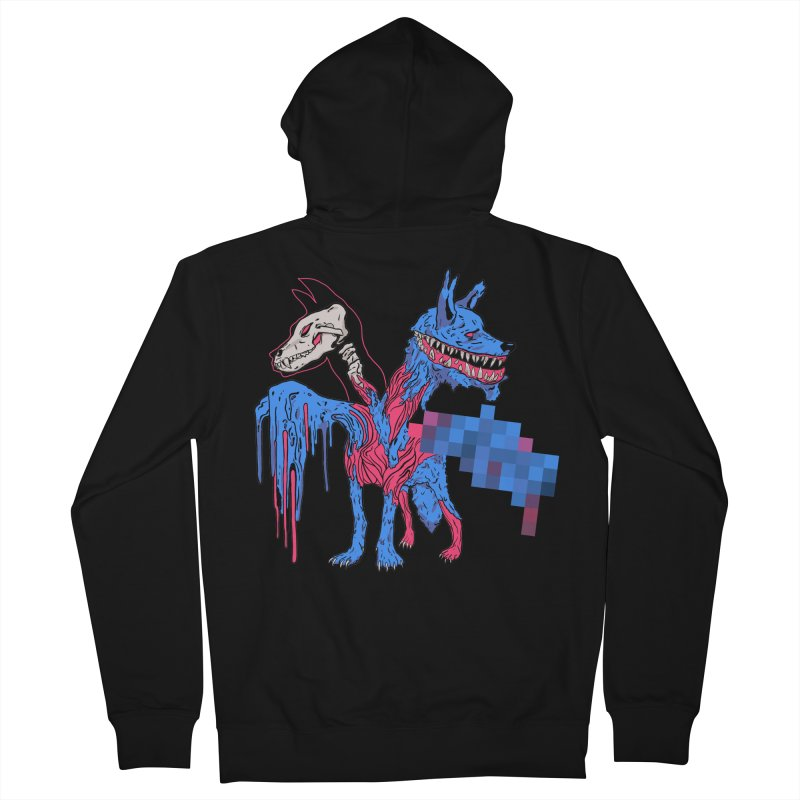 DSCERBERUS Men's French Terry Zip-Up Hoody by Dom's Shop