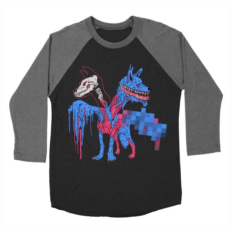 DSCERBERUS Women's Baseball Triblend Longsleeve T-Shirt by Dom's Shop