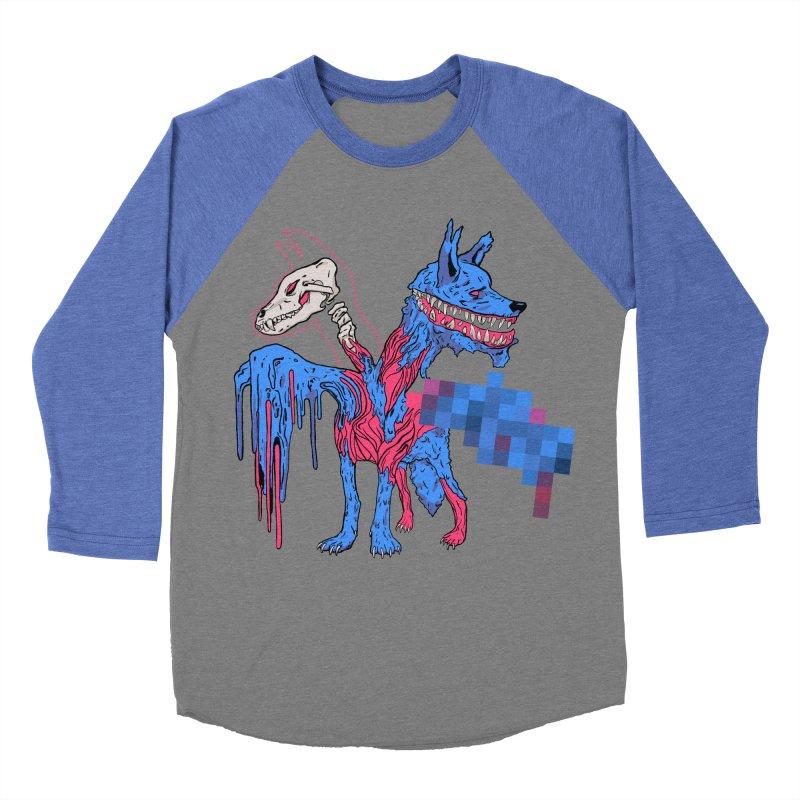 DSCERBERUS Men's Baseball Triblend Longsleeve T-Shirt by Dom's Shop