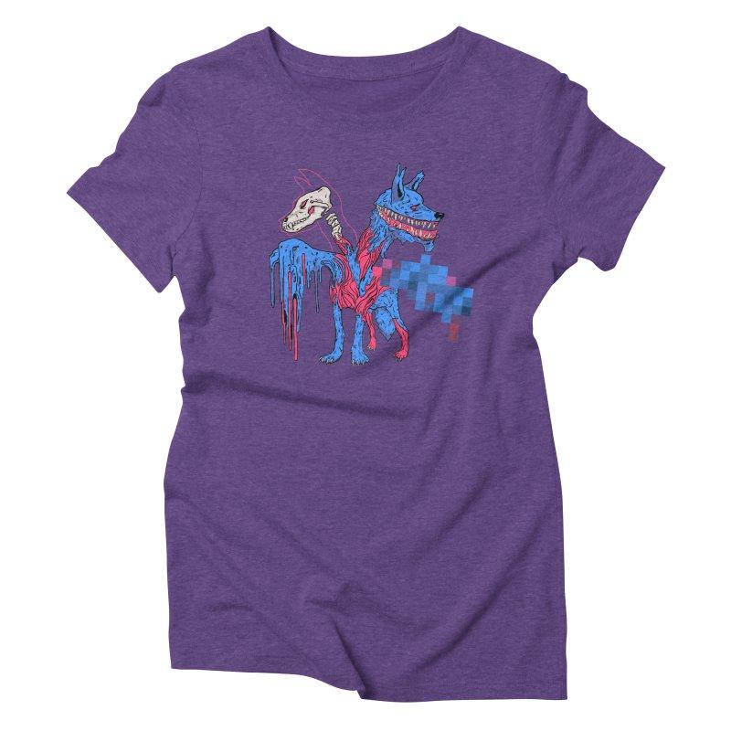 DSCERBERUS Women's Triblend T-Shirt by Dom's Shop