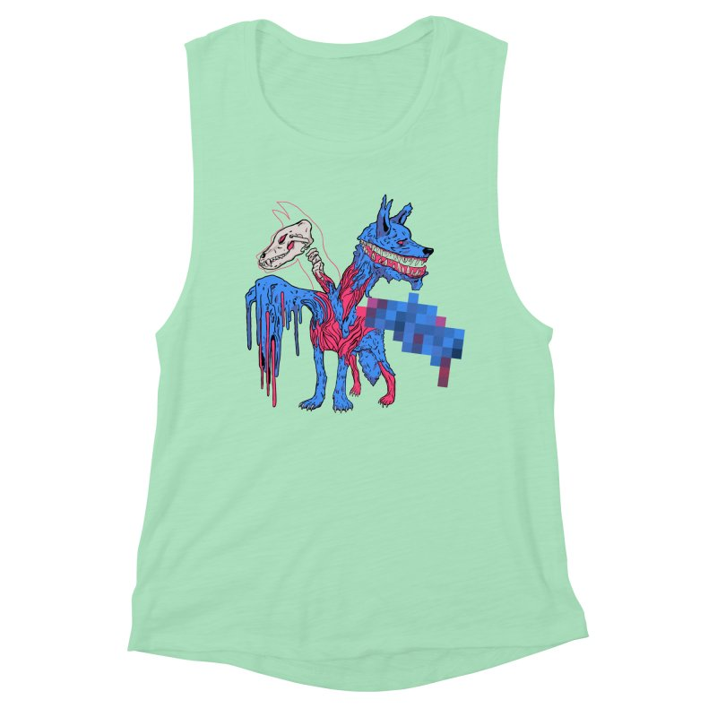 DSCERBERUS Women's Muscle Tank by Dom's Shop