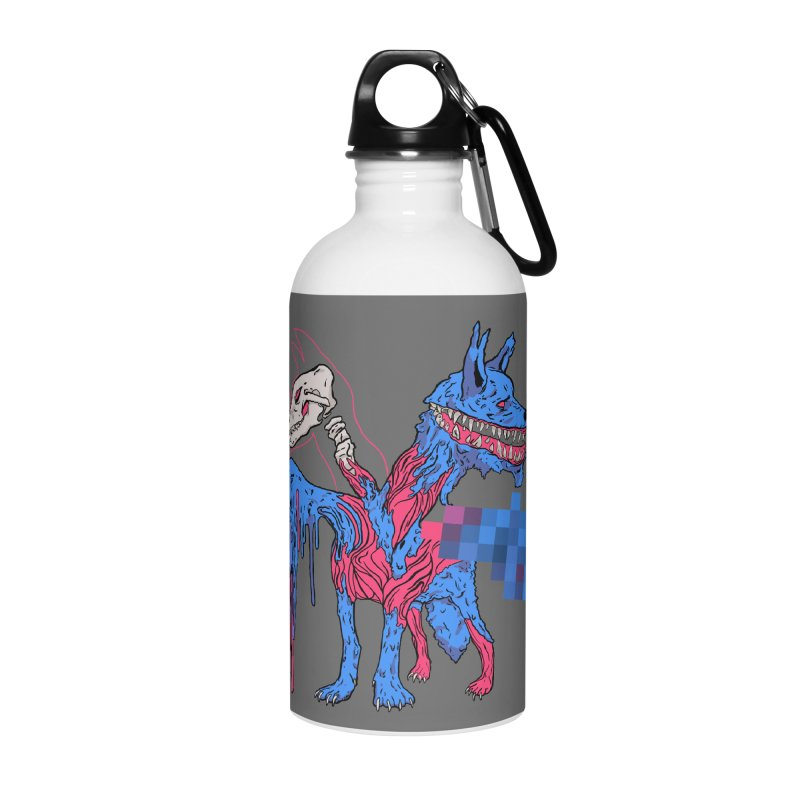 DSCERBERUS Accessories Water Bottle by Dom's Shop