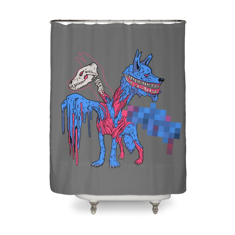 DSCERBERUS Home Shower Curtain by Dom's Shop