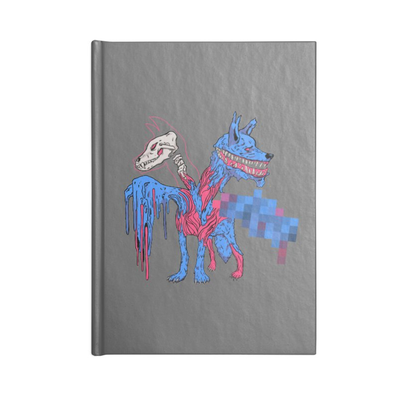 DSCERBERUS Accessories Blank Journal Notebook by Dom's Shop
