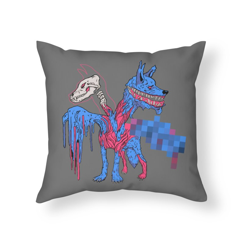 DSCERBERUS Home Throw Pillow by Dom's Shop