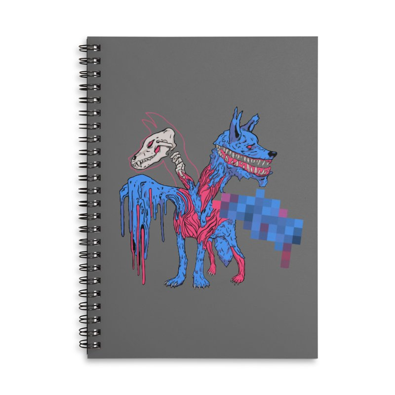 DSCERBERUS Accessories Lined Spiral Notebook by Dom's Shop