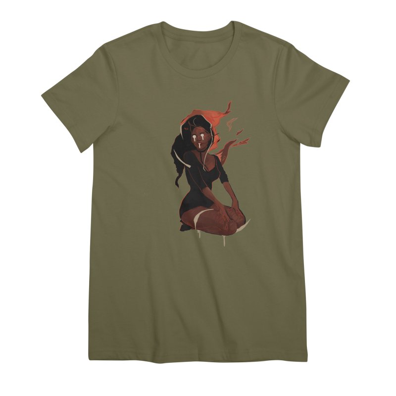 Your First Demon Sister Women's Premium T-Shirt by Dom's Shop