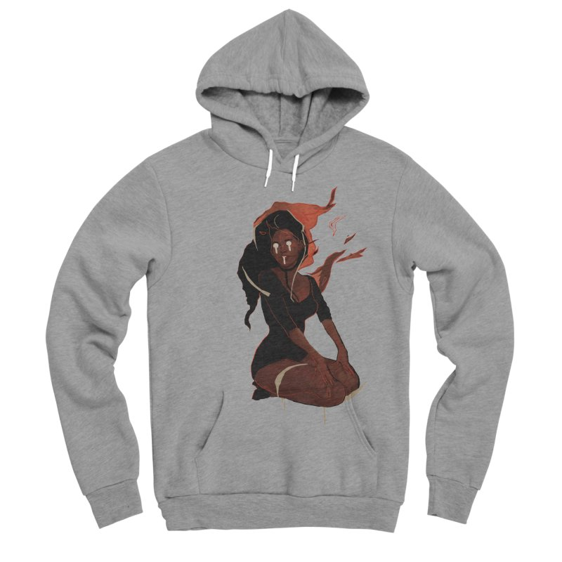 Your First Demon Sister Women's Sponge Fleece Pullover Hoody by Dom's Shop