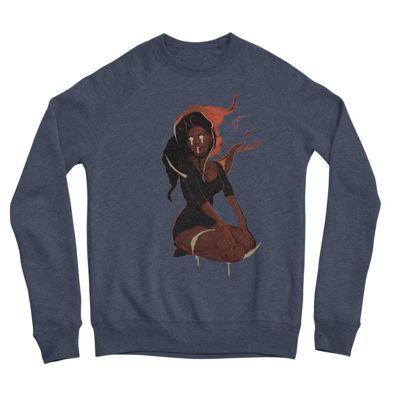 Your First Demon Sister Men's Sponge Fleece Sweatshirt by Dom's Shop