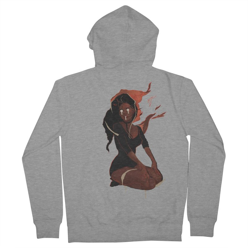 Your First Demon Sister Men's French Terry Zip-Up Hoody by Dom's Shop