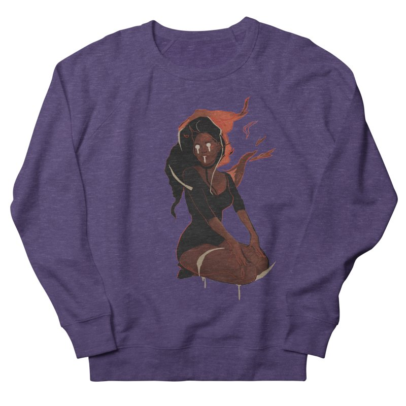 Your First Demon Sister Women's French Terry Sweatshirt by Dom's Shop