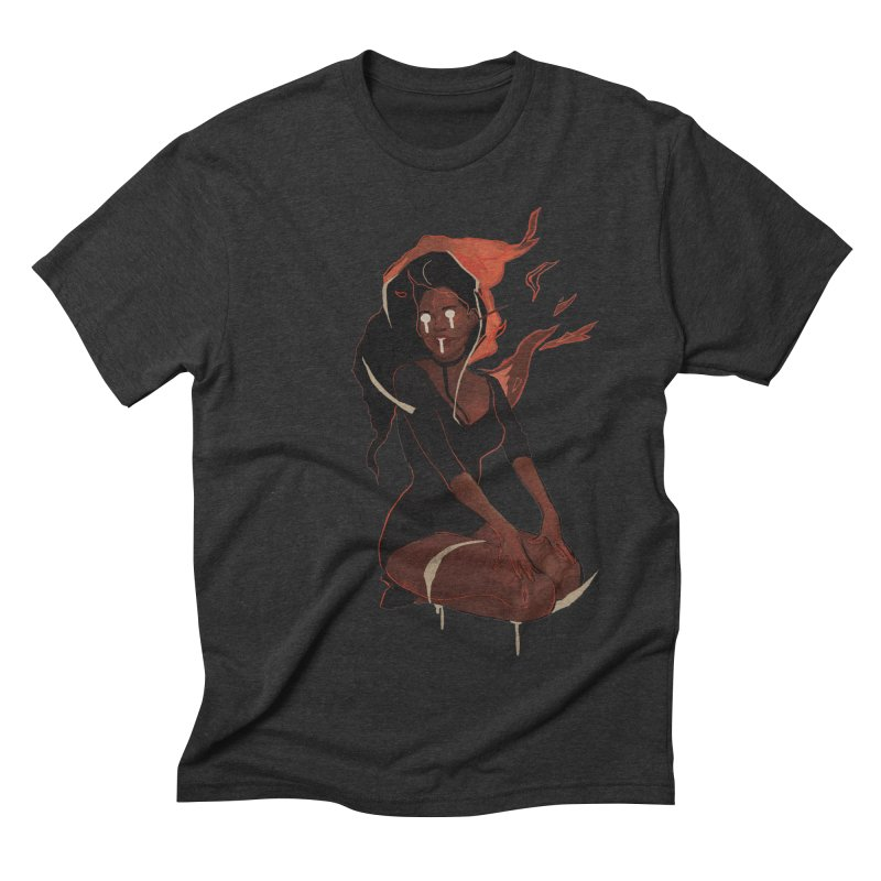 Your First Demon Sister Men's Triblend T-Shirt by Dom's Shop