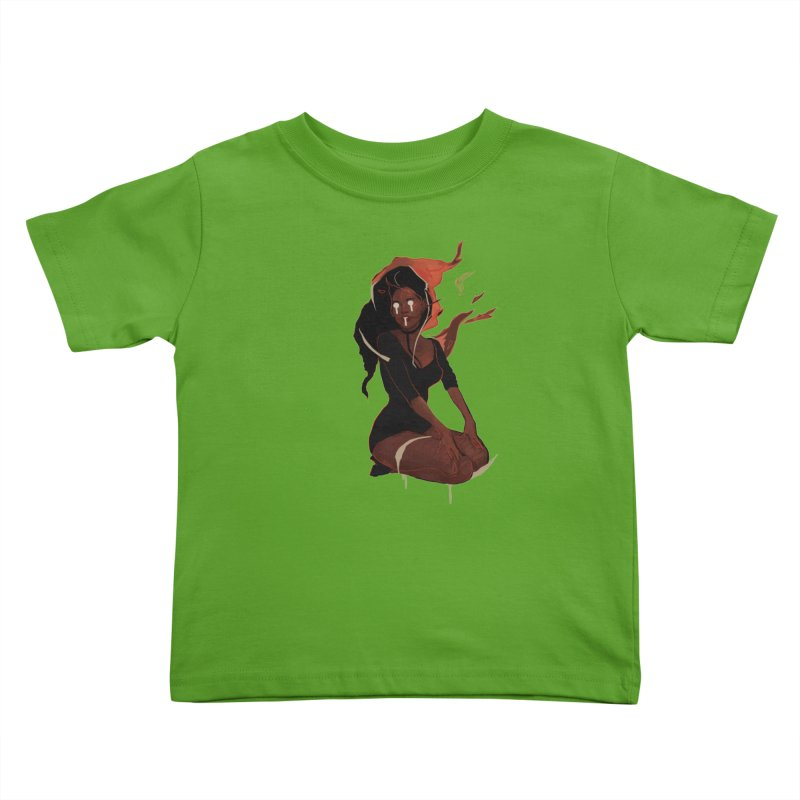 Your First Demon Sister Kids Toddler T-Shirt by Dom's Shop