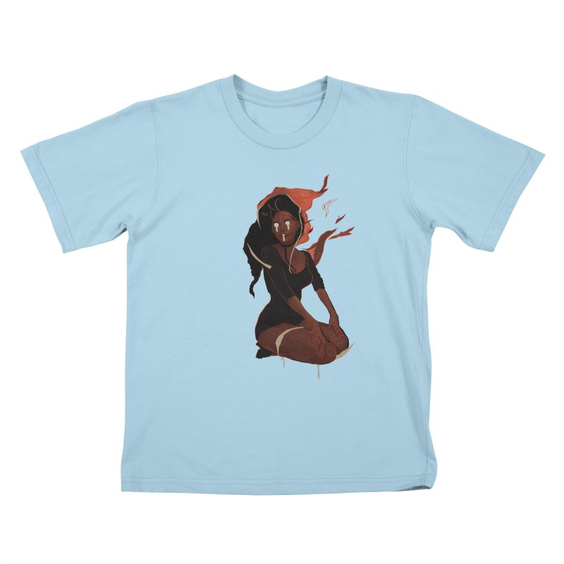 Your First Demon Sister Kids T-Shirt by Dom's Shop