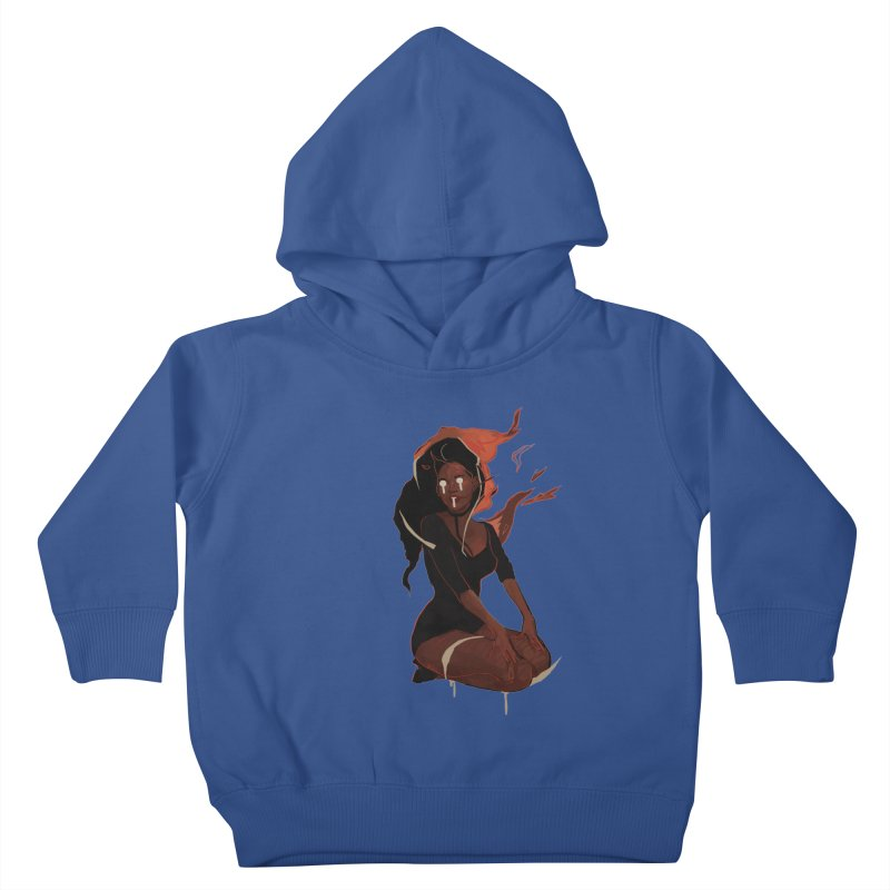 Your First Demon Sister Kids Toddler Pullover Hoody by Dom's Shop