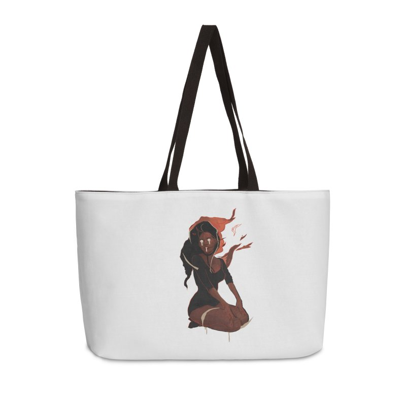 Your First Demon Sister Accessories Weekender Bag Bag by Dom's Shop