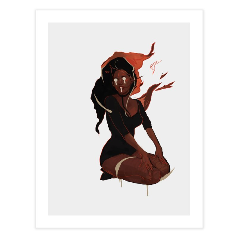 Your First Demon Sister Home Fine Art Print by Dom's Shop
